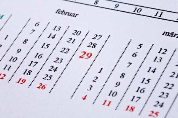 Leap Year Julian Date Calendar 2016 | Calendar Template 2016