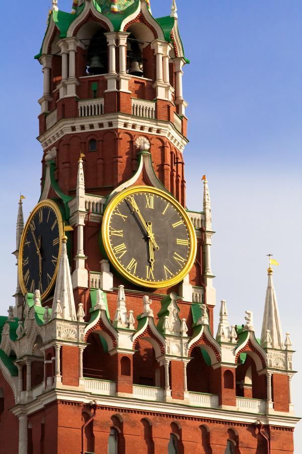 Spaskaya tower of Moscow Kremlin