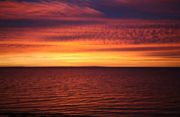 Sunrise on Yorke Peninsula South Australia