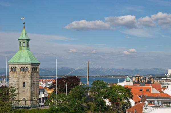 Stavanger city, Norway.