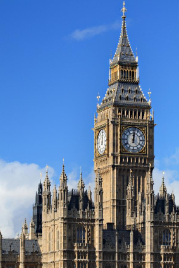 Big Ben and the Houses of Parliament (London, England).