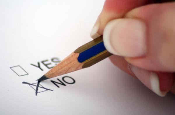 Vote for NO