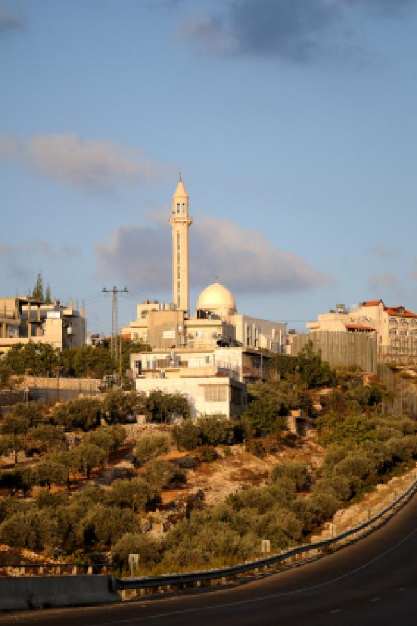 Arab village at West Bank.