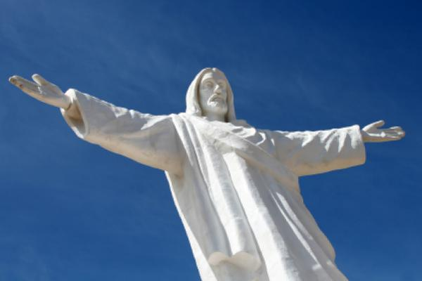 Jesus statue