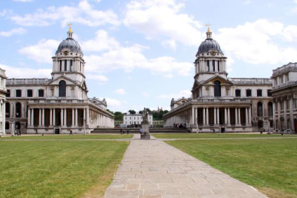 Old Royal Naval College in Greenwich, London, England
