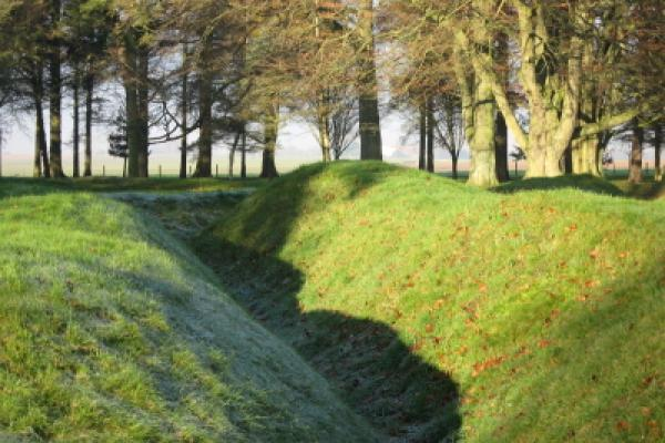 1st World War trench / battlefield site from1914~18 the Somme France