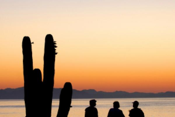 sunrise over Sea of Cortez