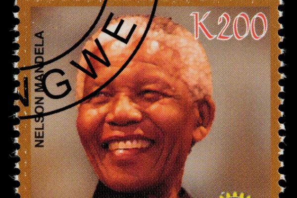 Nelson Mandela Postage Stamp