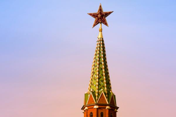 Kremlin Tower, clock