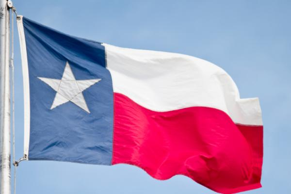 Texas' flag, also known as the Lone Star flag, became the state's ...