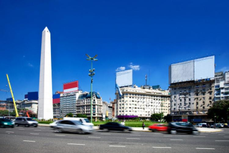Buenos Aires City Center in Argentina.