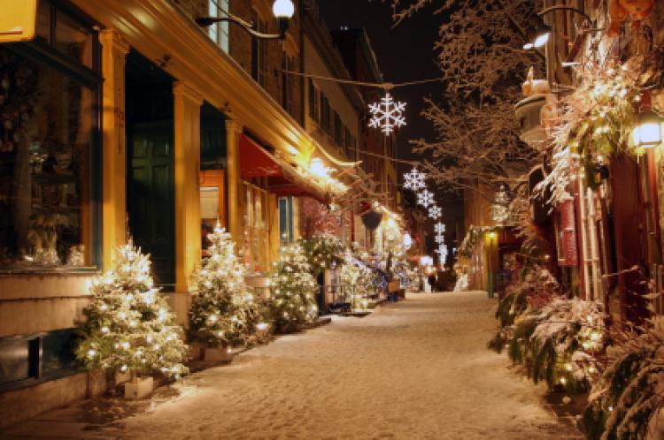 Northern Lights Christmas Decorations