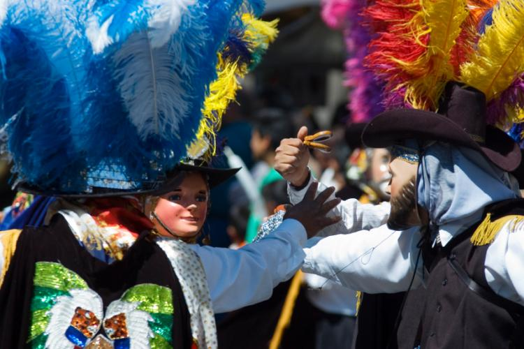 Carnival in puebla mexico