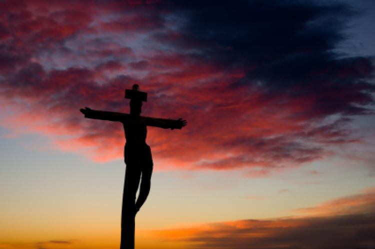 Crucifix and Sunrise