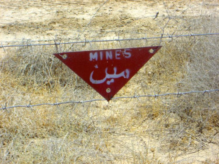 United Nations' Mine Awareness Day