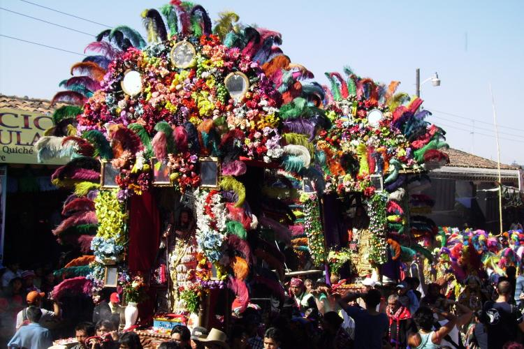 Celebrating Santo Tomas in Chichicastenango, Guatemala , 21 December 2008 On the 21st of December.