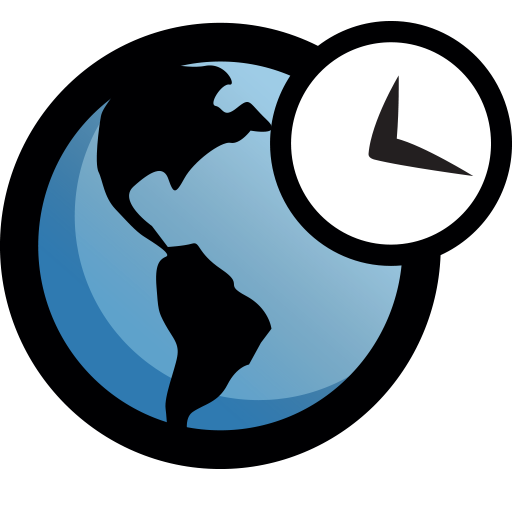 World Clock App icon
