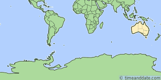 Location of Macquarie Island