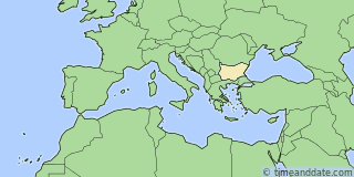 Location of Stara Zagora