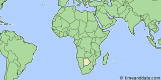 Location of Molepolole