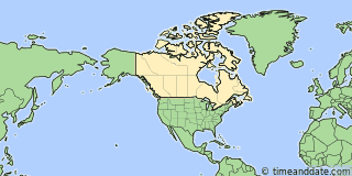 Location of Fort Simpson