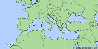 Location of Paphos