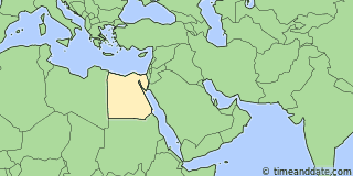 Location of Alexandria