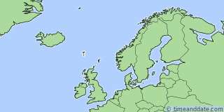 Location of Tórshavn