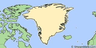 Location of Qaanaaq