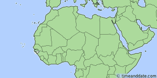 Location of Bissau