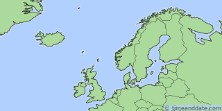 Location of Douglas