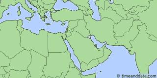 Location of Kuwait City