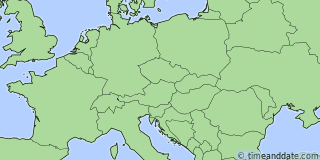 Location of Vaduz