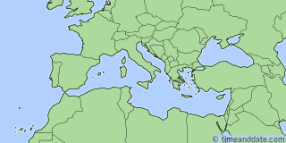 Location of Monaco