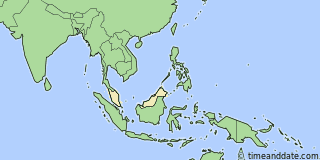Location of Miri