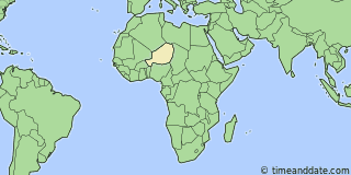 Location of Agadez