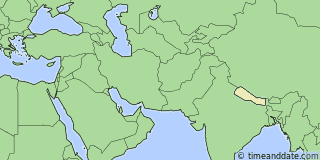 Location of Kathmandu