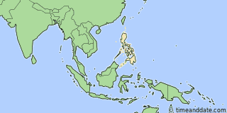 Location of Davao