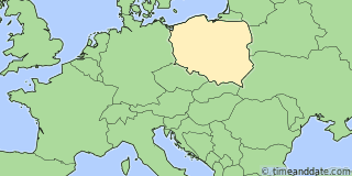 Location of Poznan