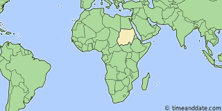 Location of Kassala
