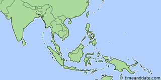 Location of Singapore