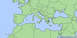 Location of San Marino