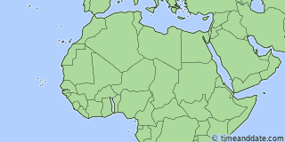 Location of Lomé