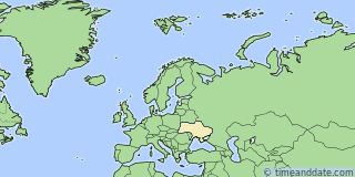 Location of Pavlograd