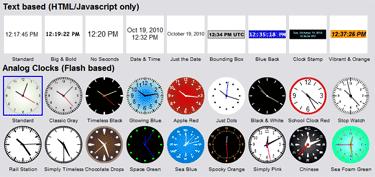 Free Clocks