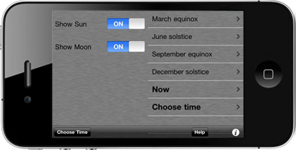 Screenshot of Day and Night app
