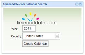 Calendar Search Plug-in for iGoogle