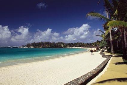 Beach in Mauritius