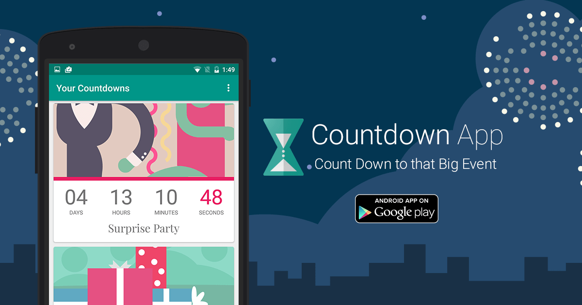 Countdown App By Timeanddate.com