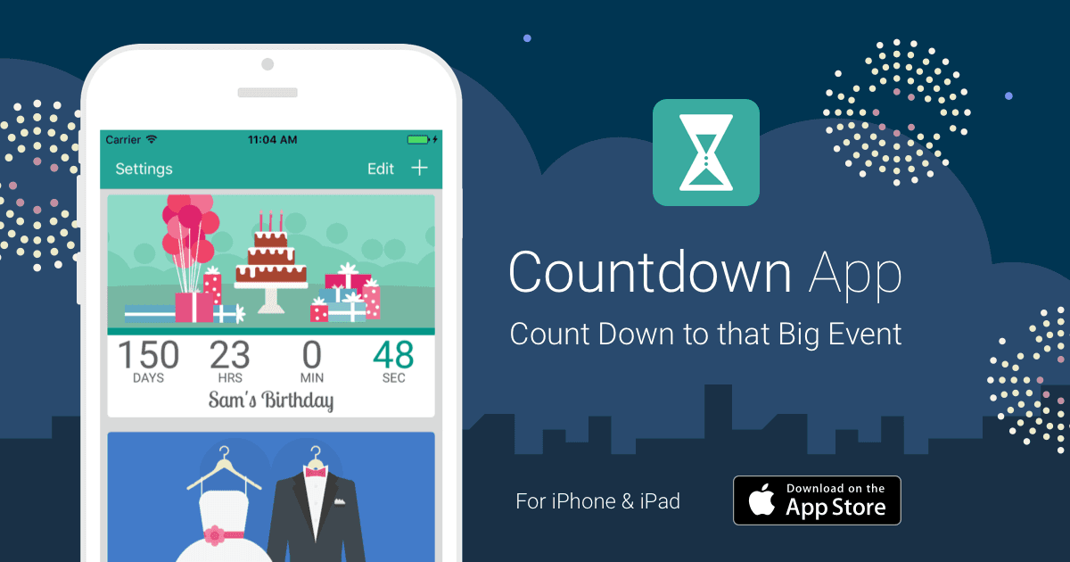 Countdown App by timeanddate.com - for iPhone & iPad